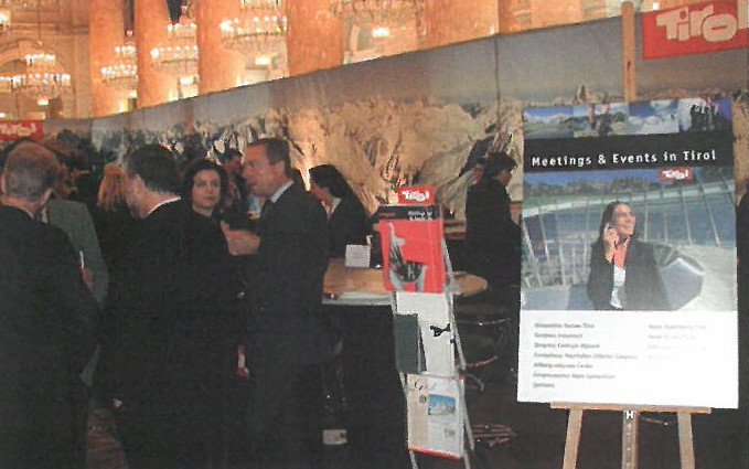 Anfänge des Convention Bureau Tirol