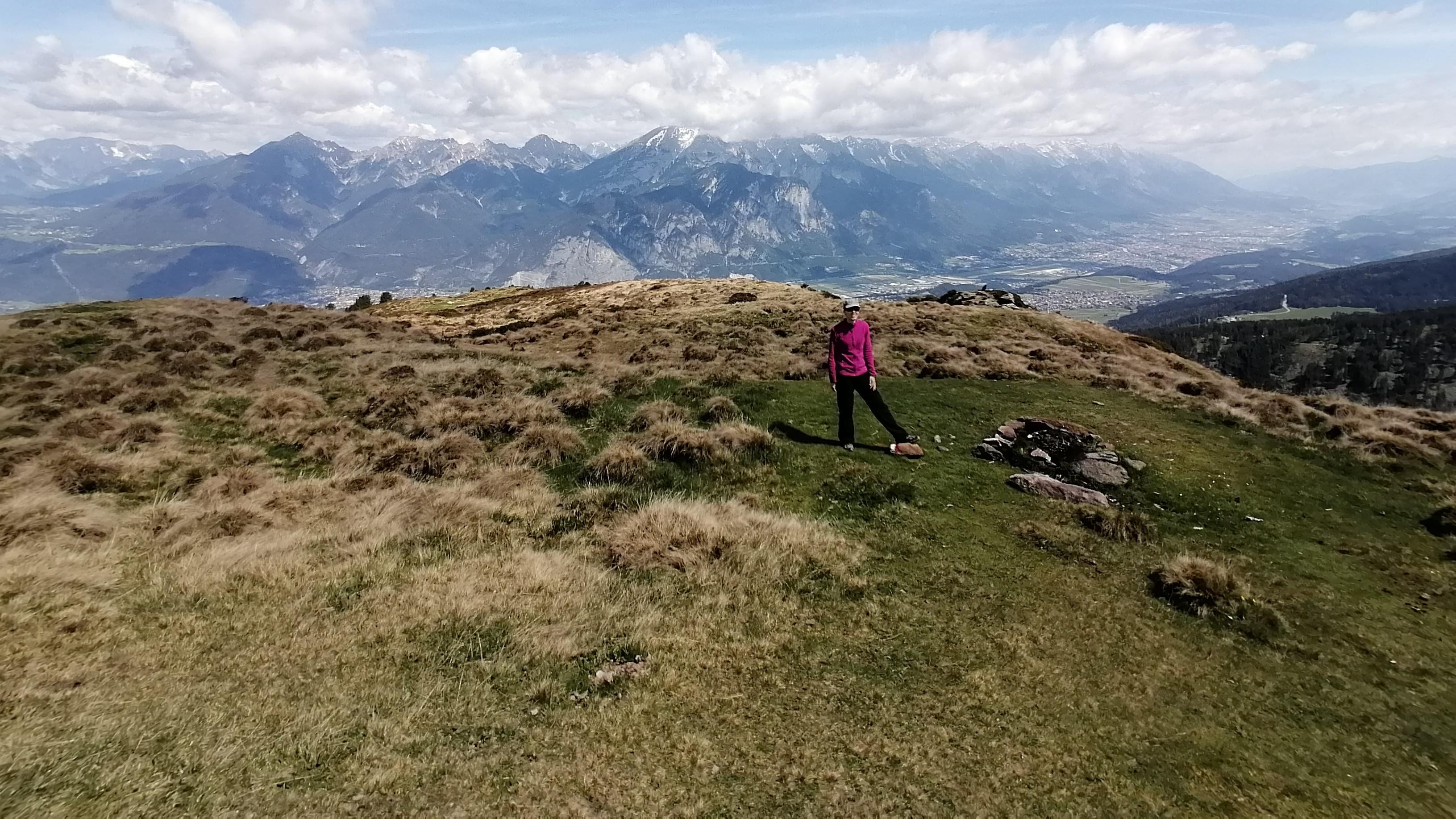 Martina Kapeller, Wandern, über Innsbruck
