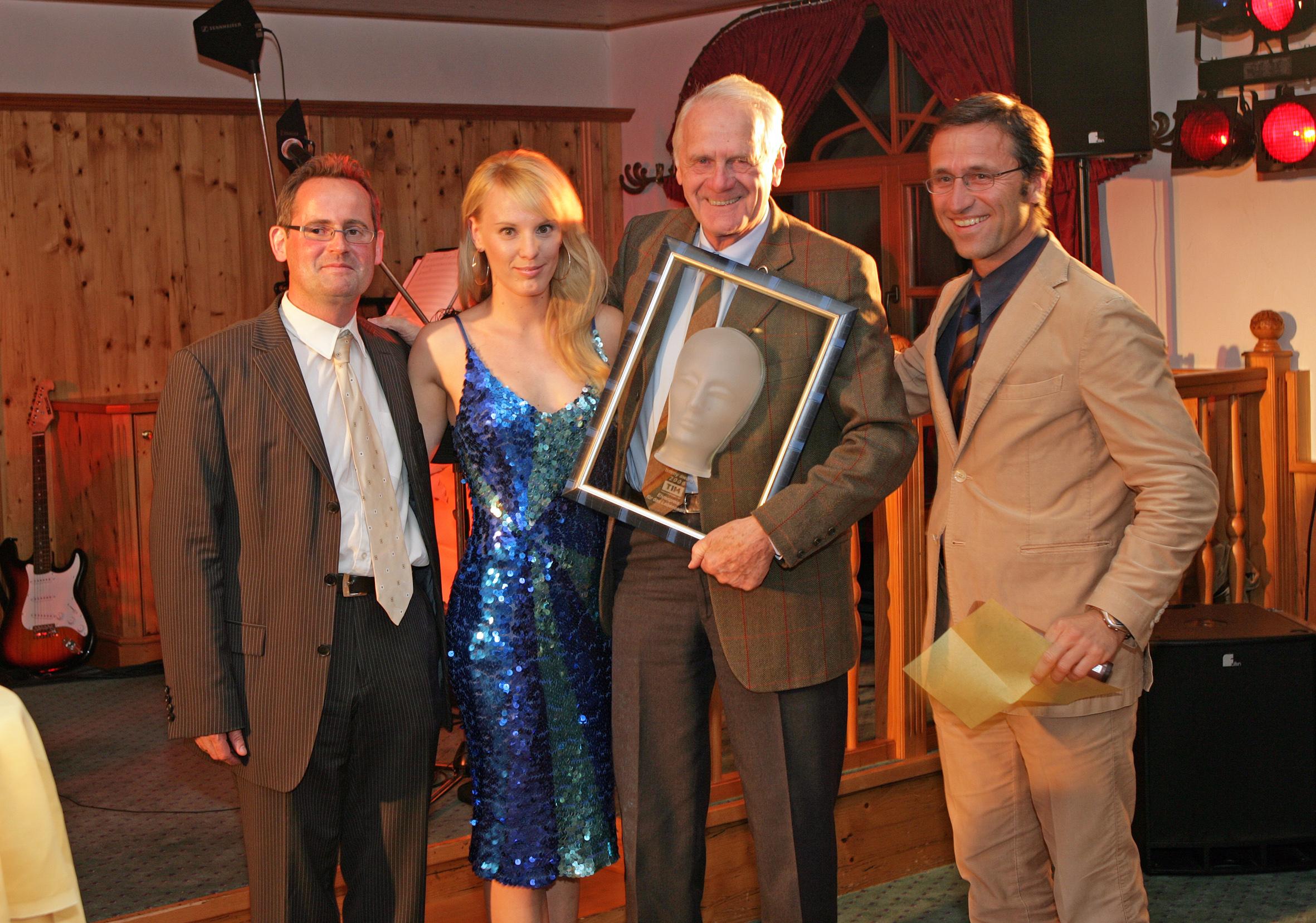 Verleihung des Touristica an Josef Ziepl