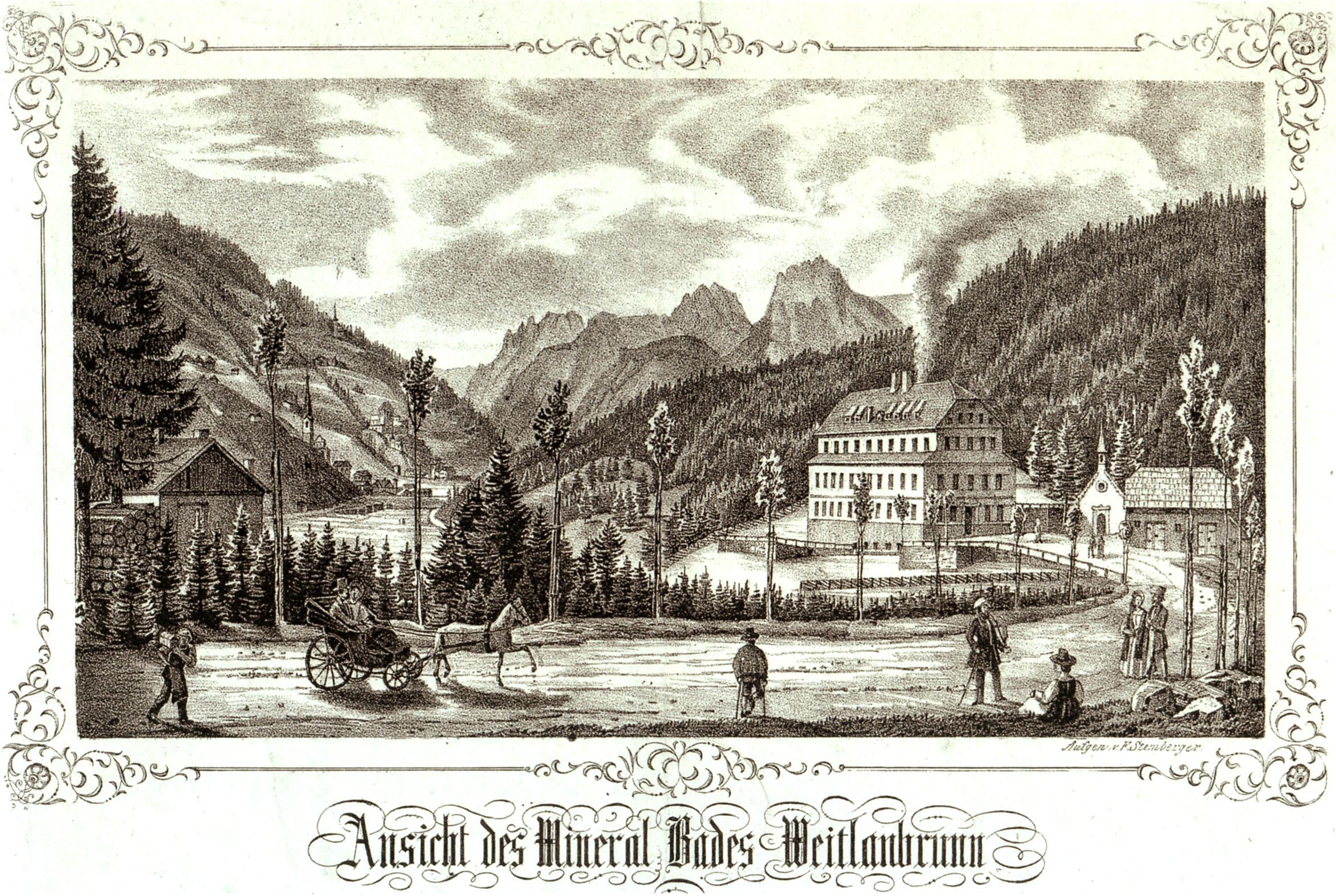 Ansichtskarte Bad Weitlanbrunn