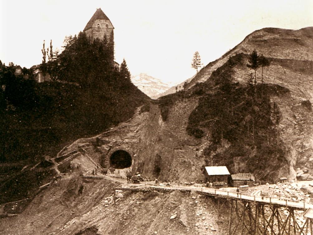 Bau der Brennerstraße