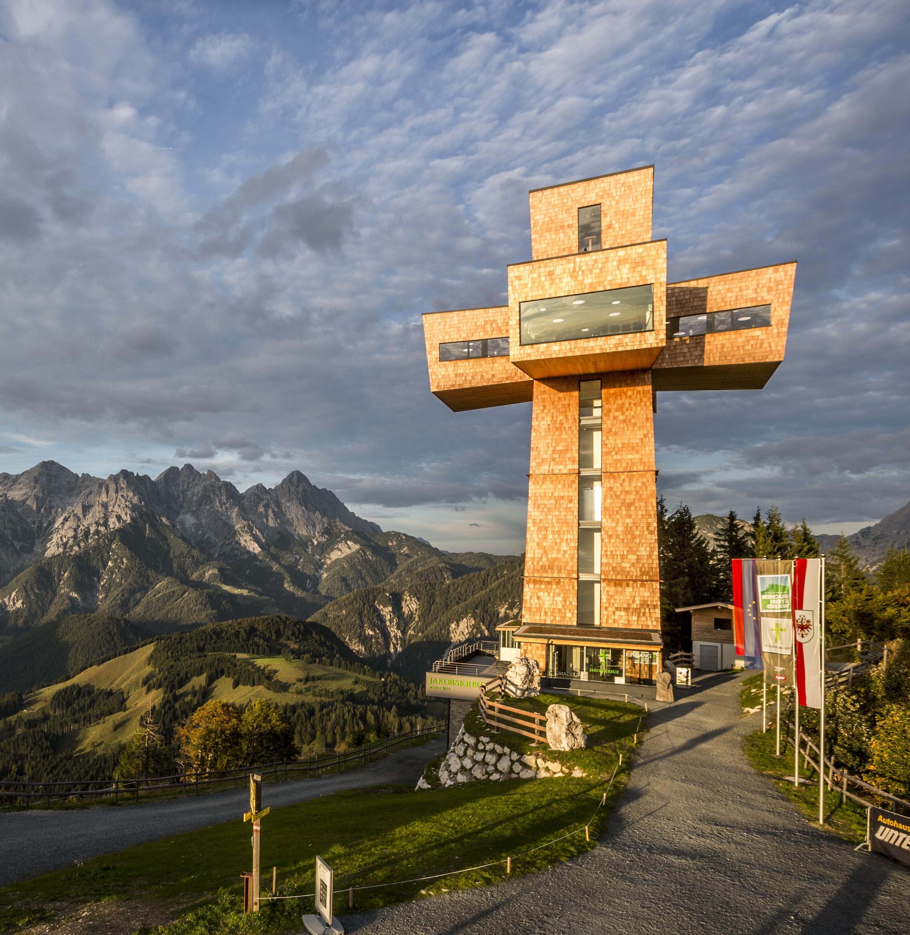 Jakobskreuz, Pillerseetal