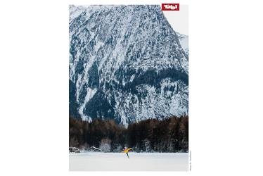 Poster Eislaufen, Piburger See