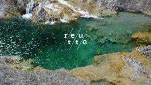 neues Logo von Reutte, Bergsee