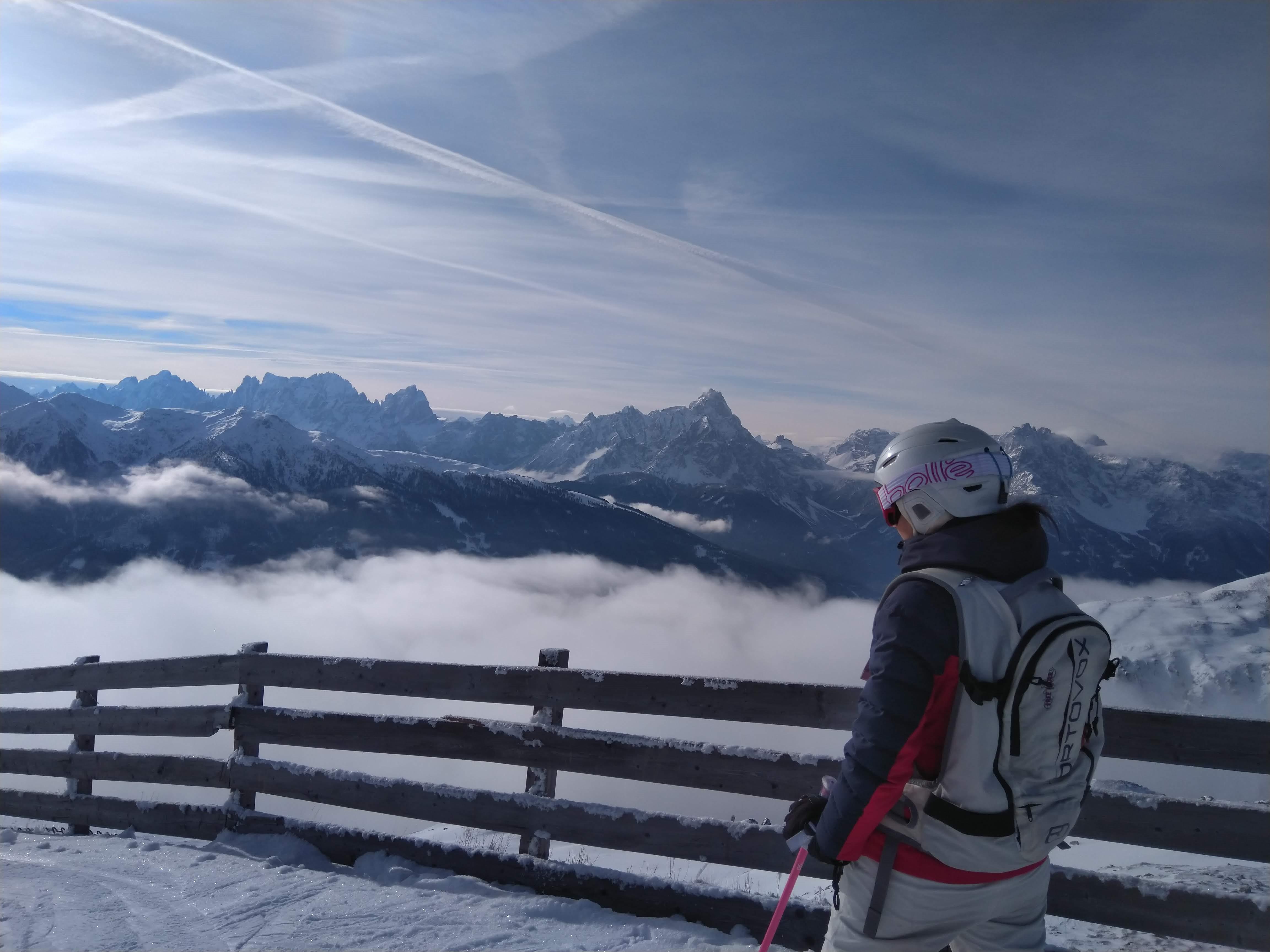 Ingrid Schneider Skifahren