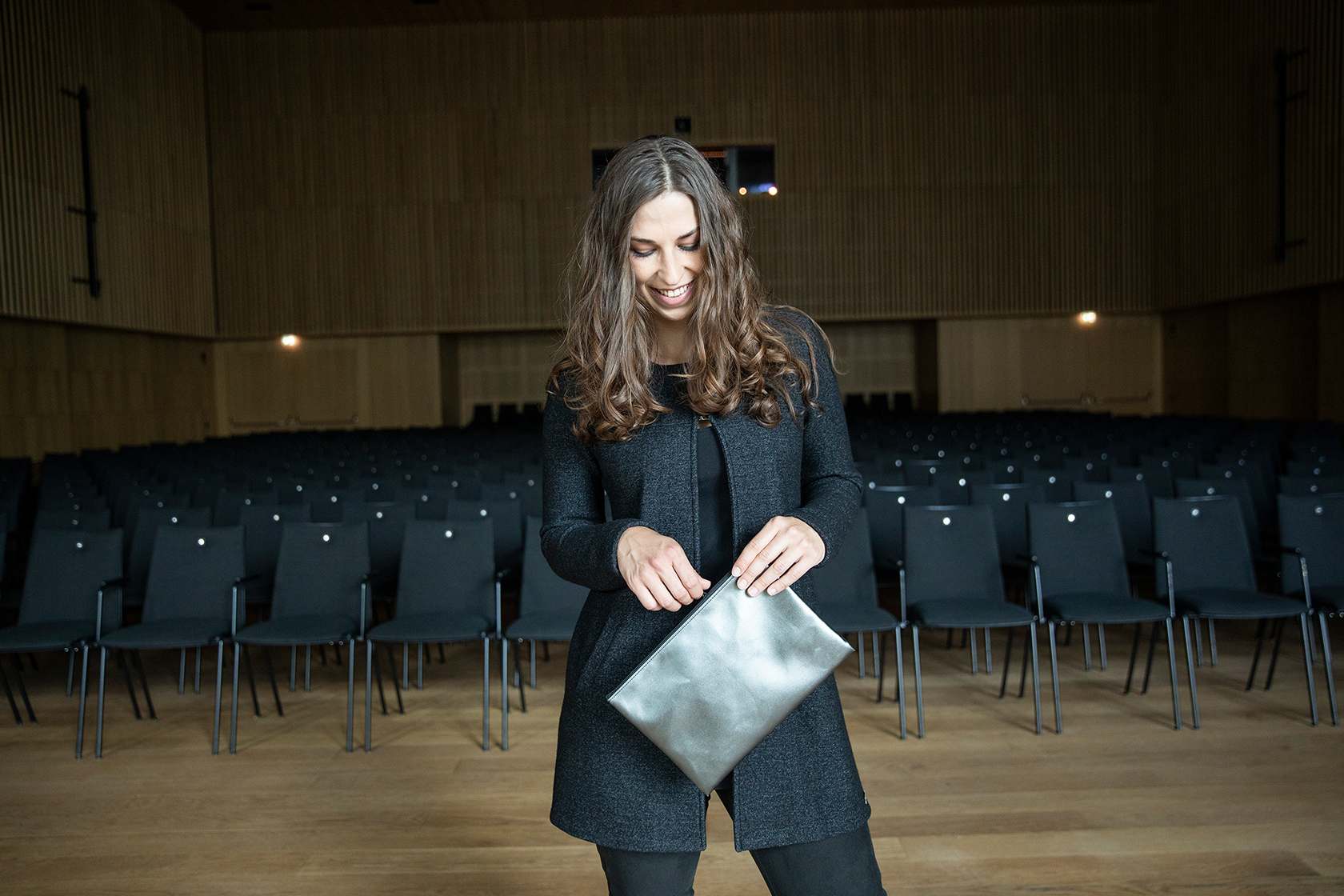 Jana Windhaber, Tirol Shop Shooting, Haus der Musik