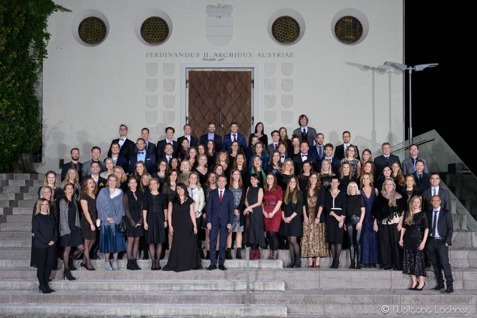 Gruppenfoto Tirol Werbung