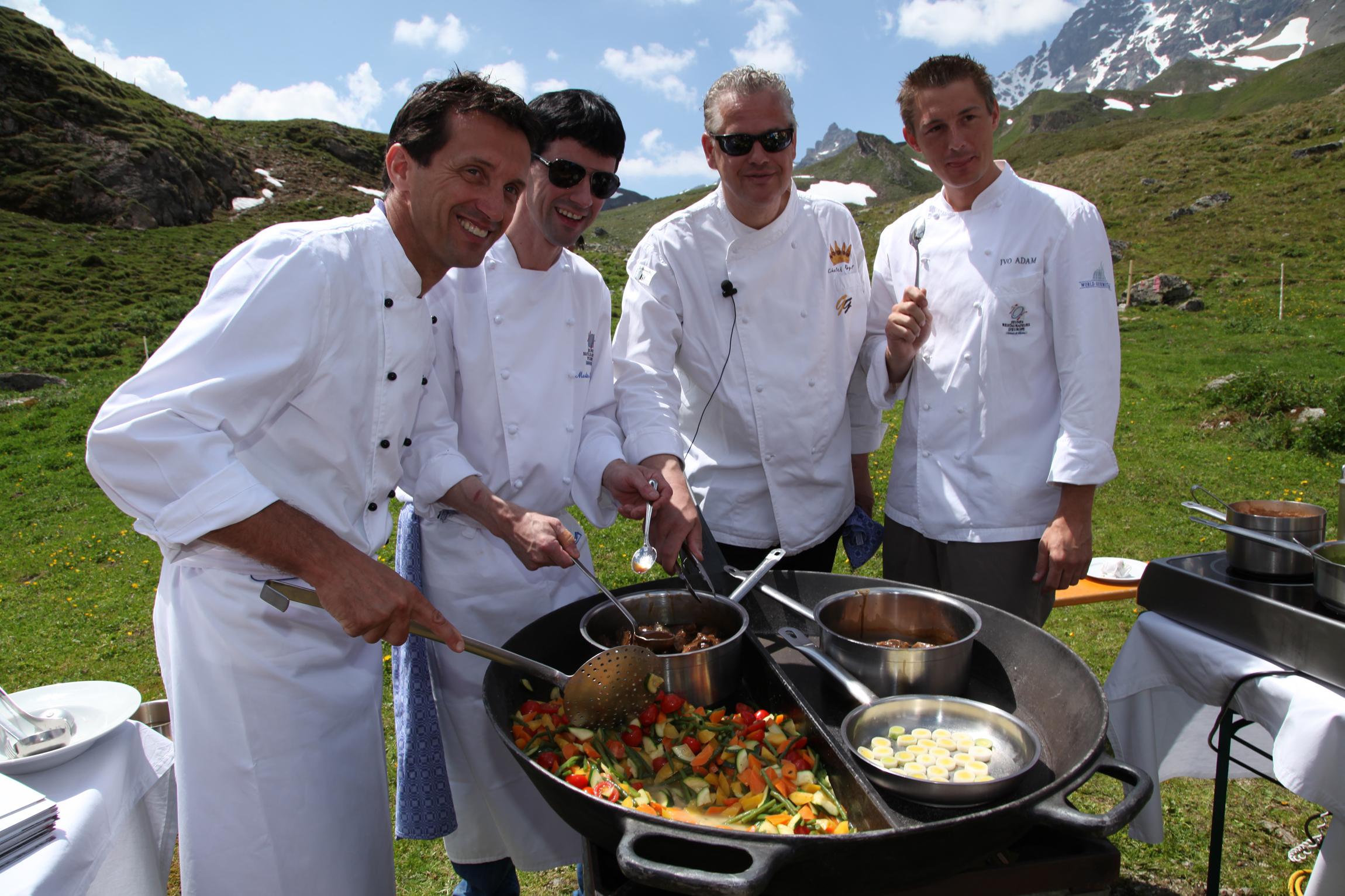Köche, Kulinarischer Jakobsweg
