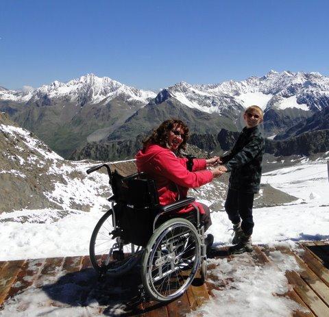 Rollstuhl, Kaunertal