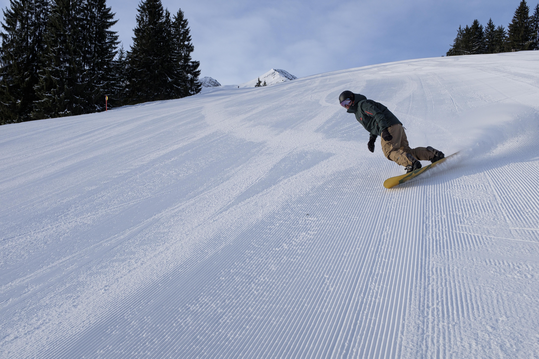 Klaus Brunner, Snowboarden