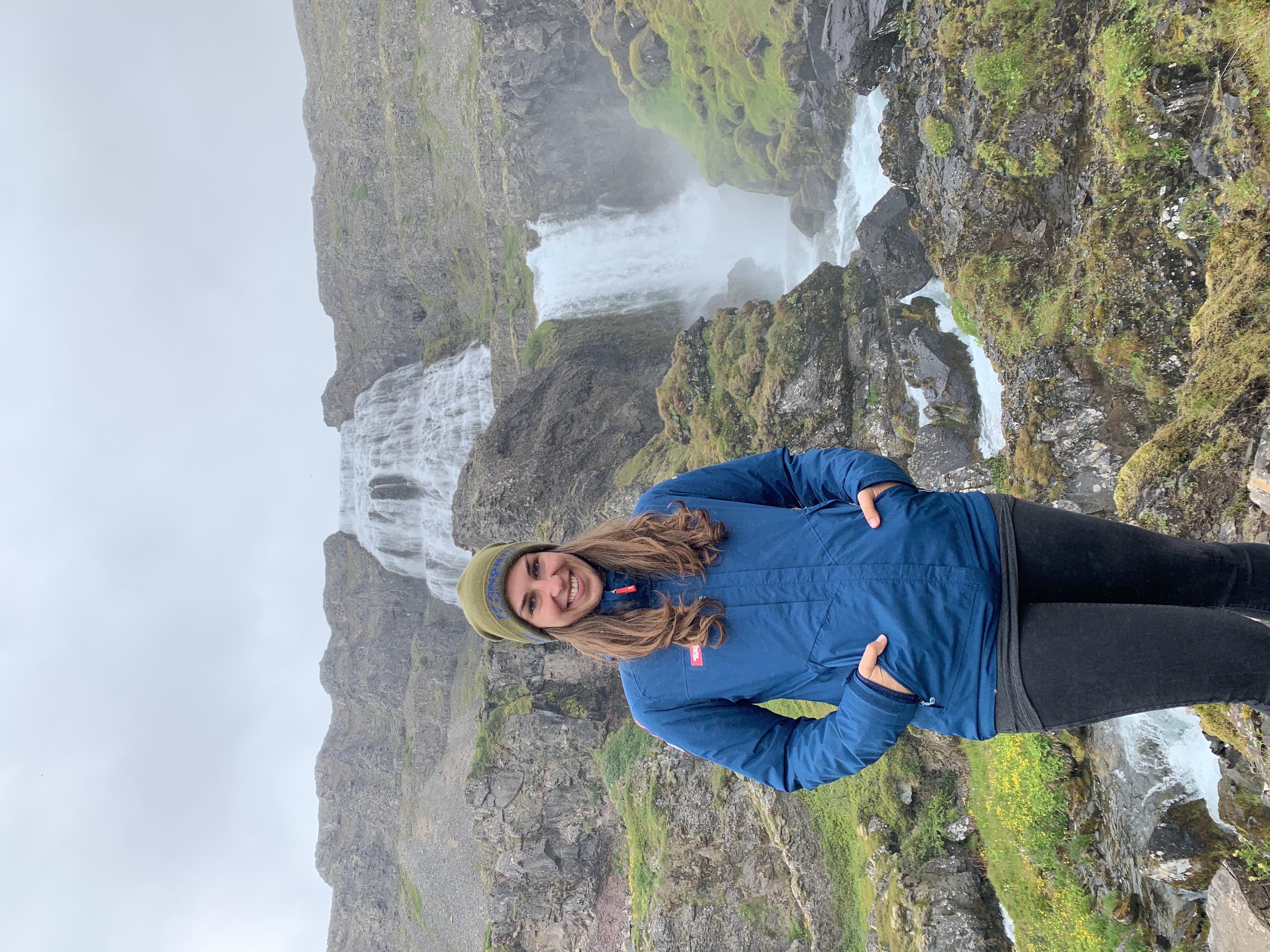 Jana Windhaber, Wasserfälle, Island