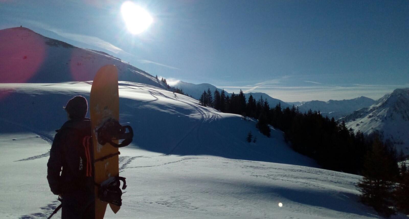 Michael Walzer, Snowboarden