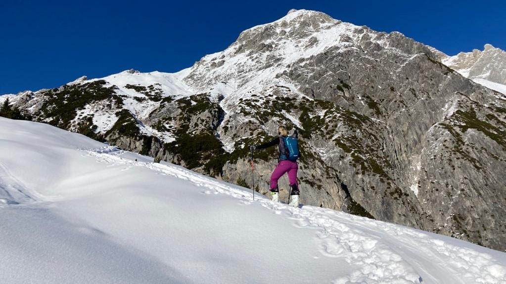 Kasia Gaczorek, Skitour, Berge