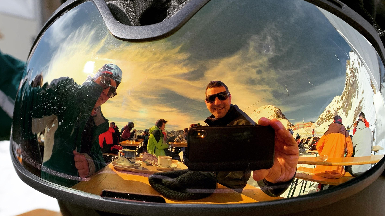 Holger Gassler, Skifahren, Skibrille
