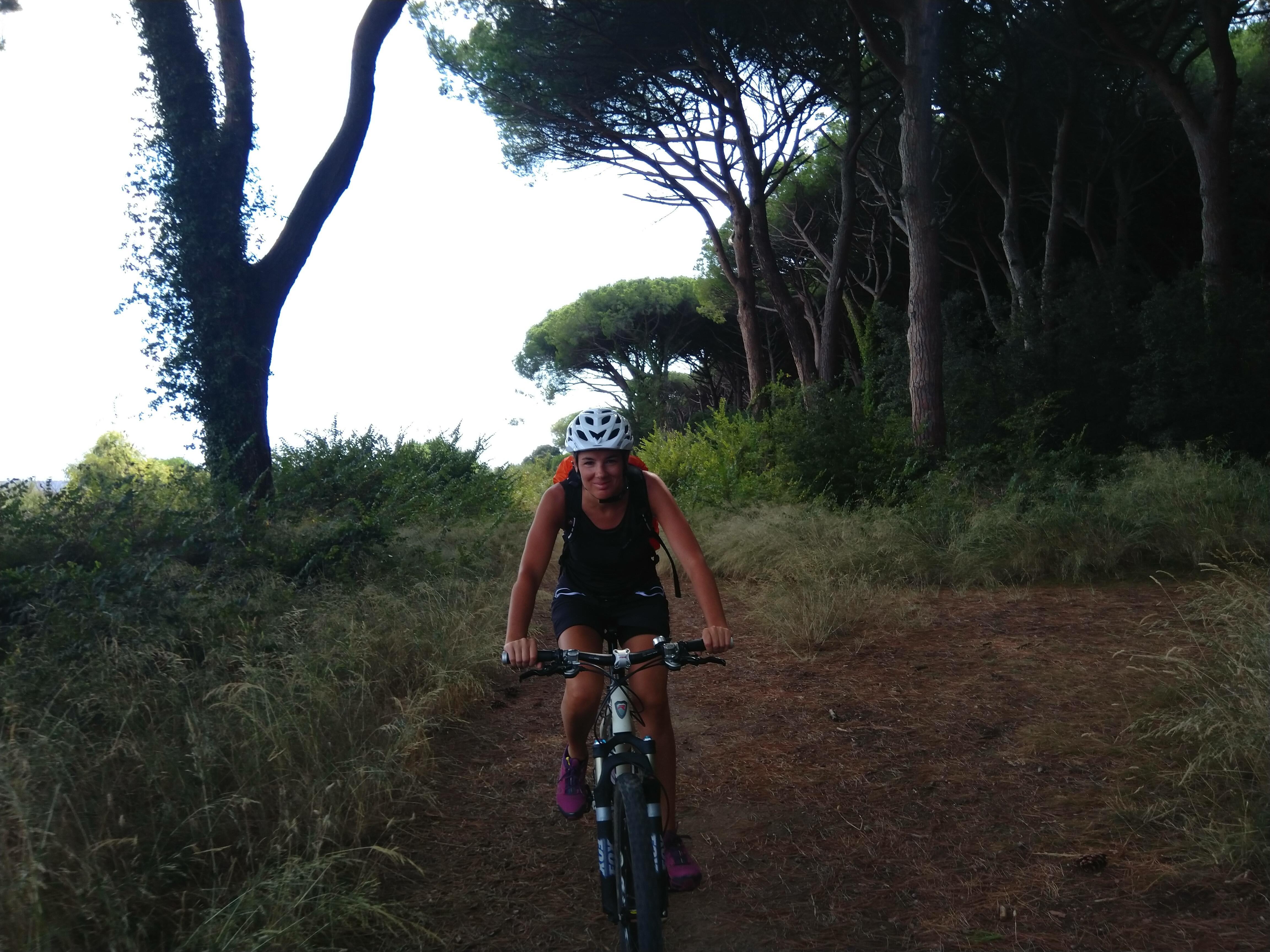 Ingrid Schneider Radfahren