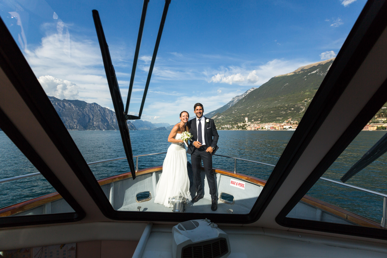 Claudia Pichler, Hochzeit, Gardasee