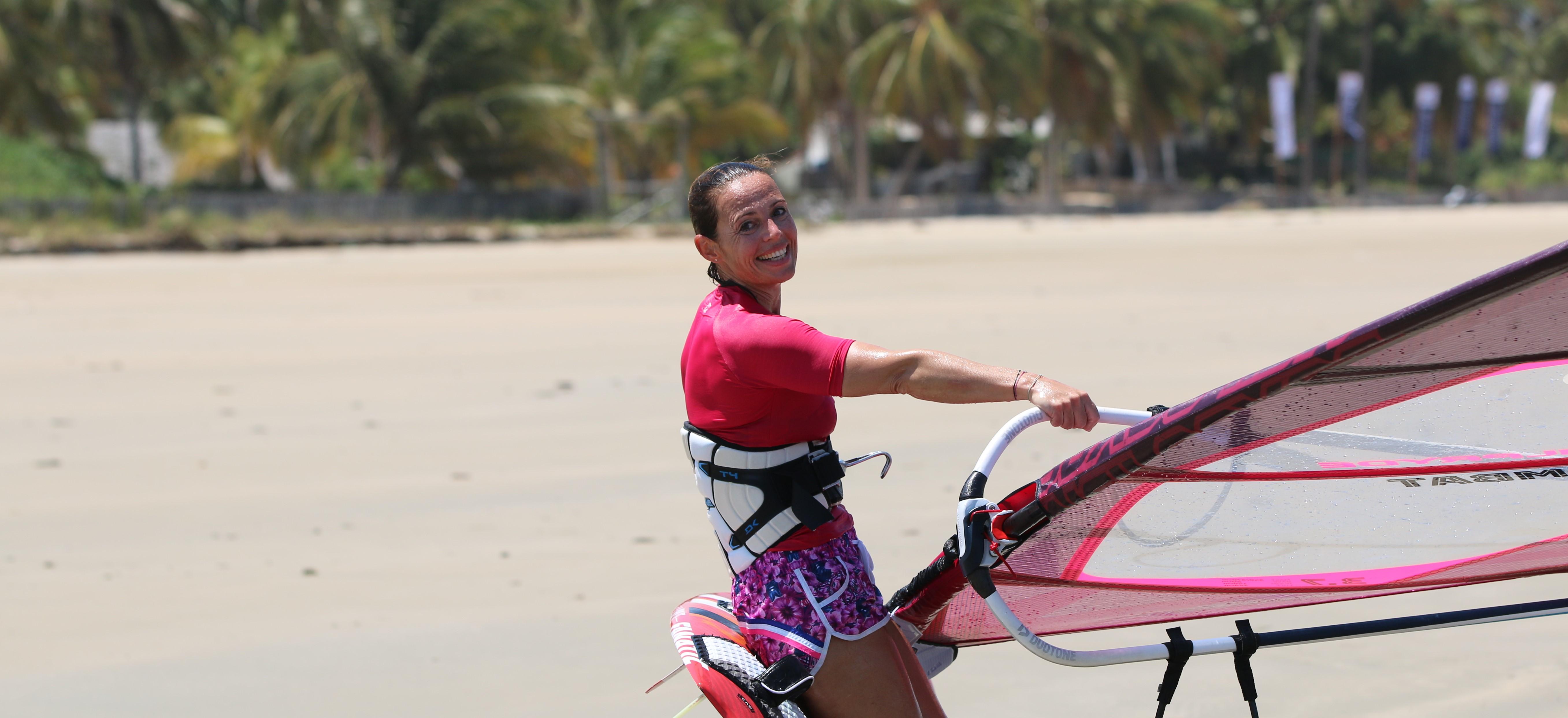 Claudia Pichler, Surfen