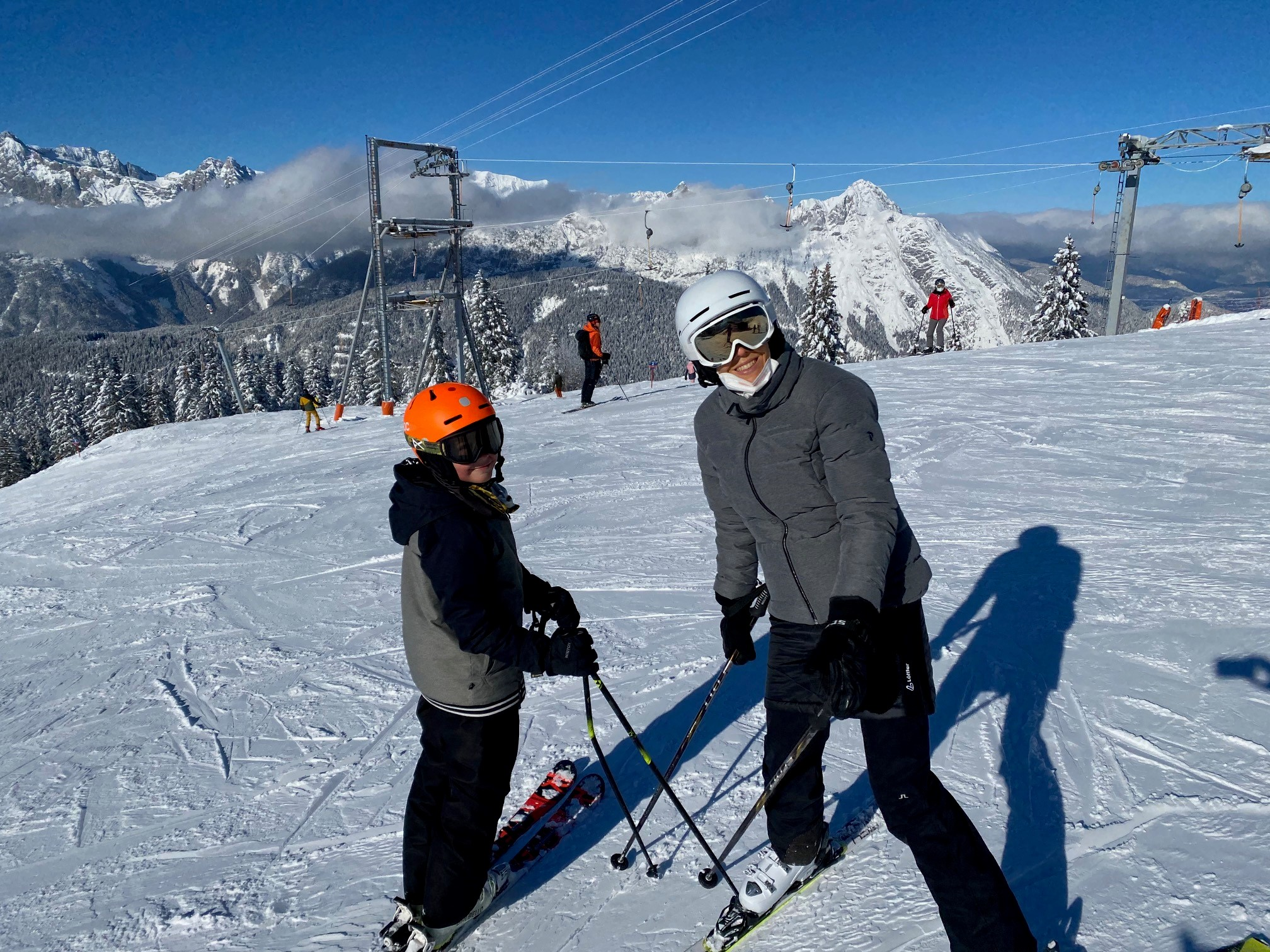 Fabienne Kröll, Skifahren