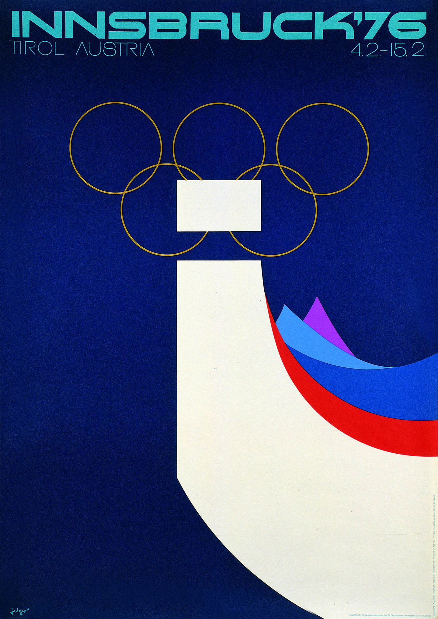 Plakat Olympia 1976