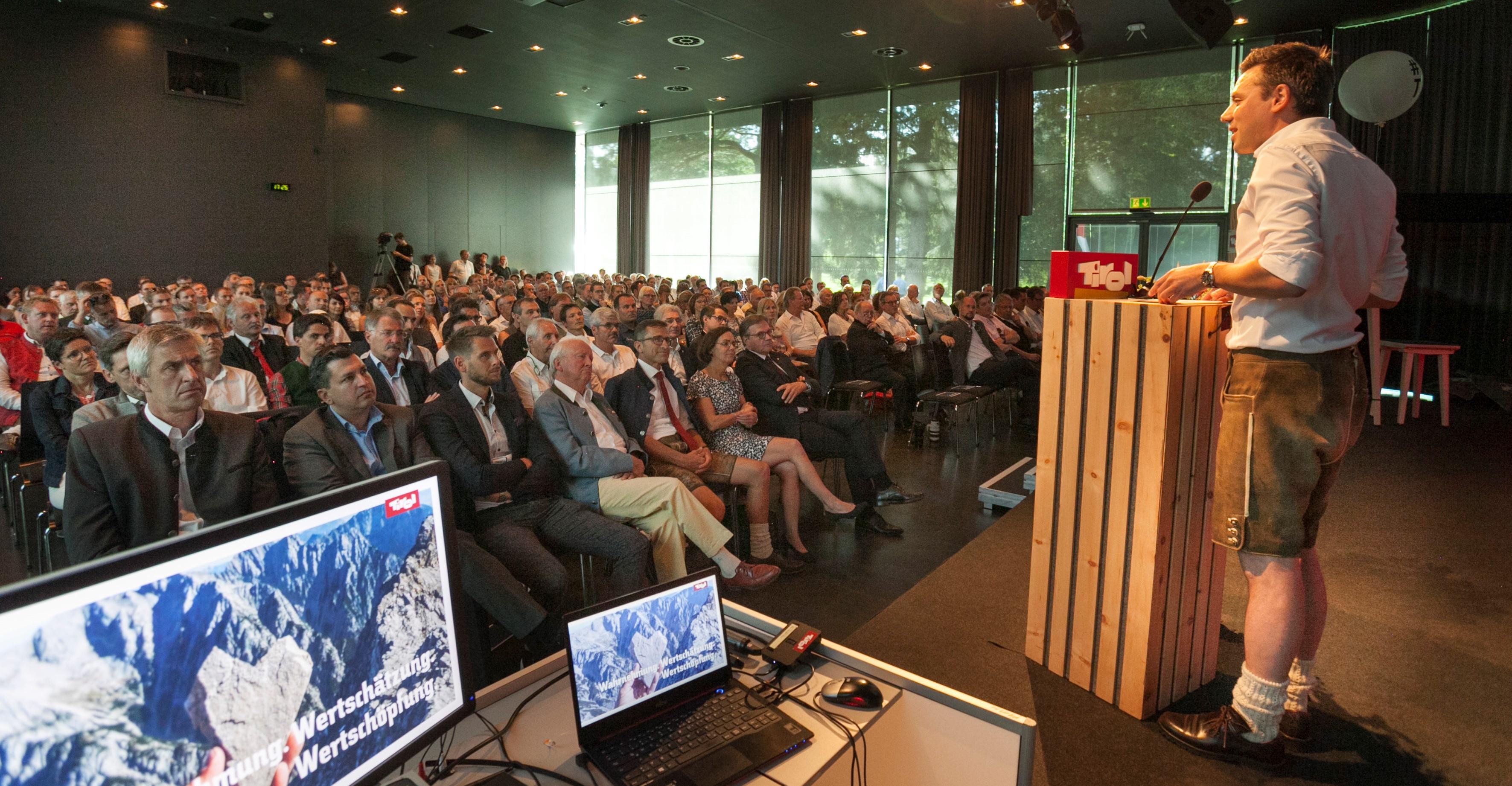 Rede beim Tourismusforum 2019