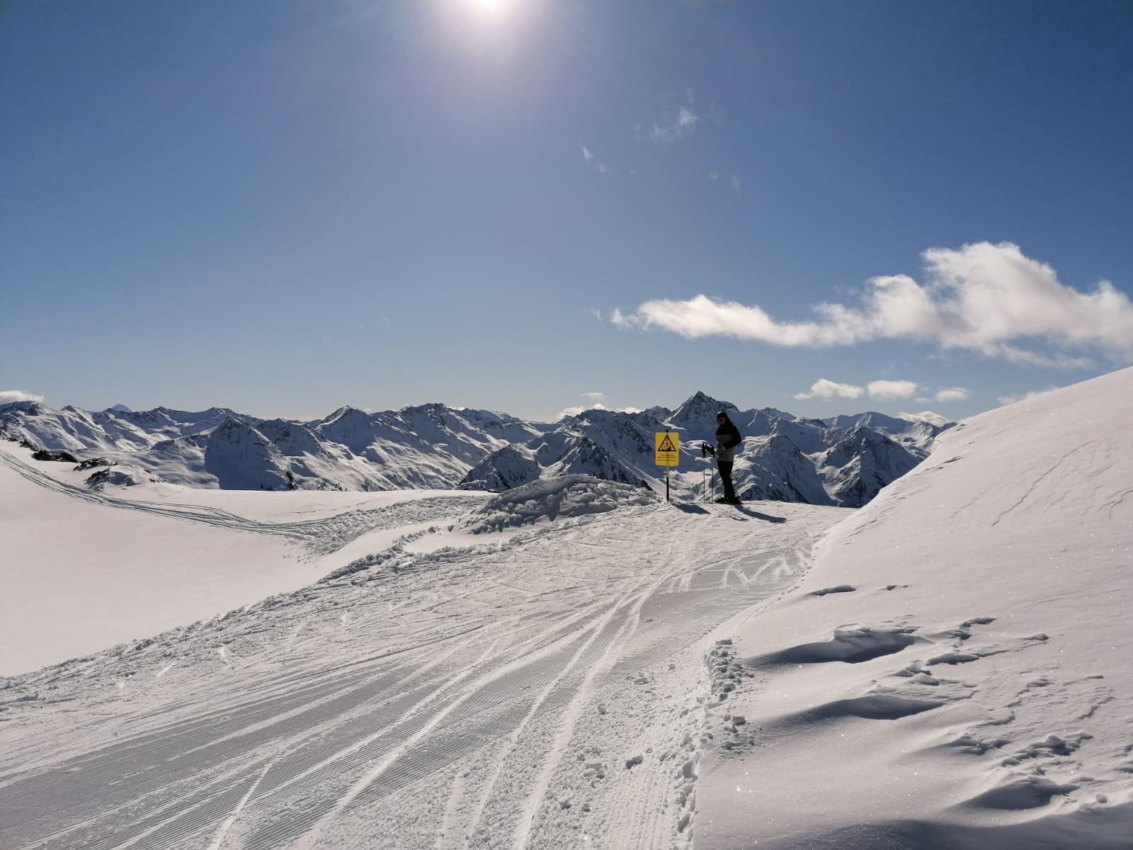 Martin Reiter, Skifahren