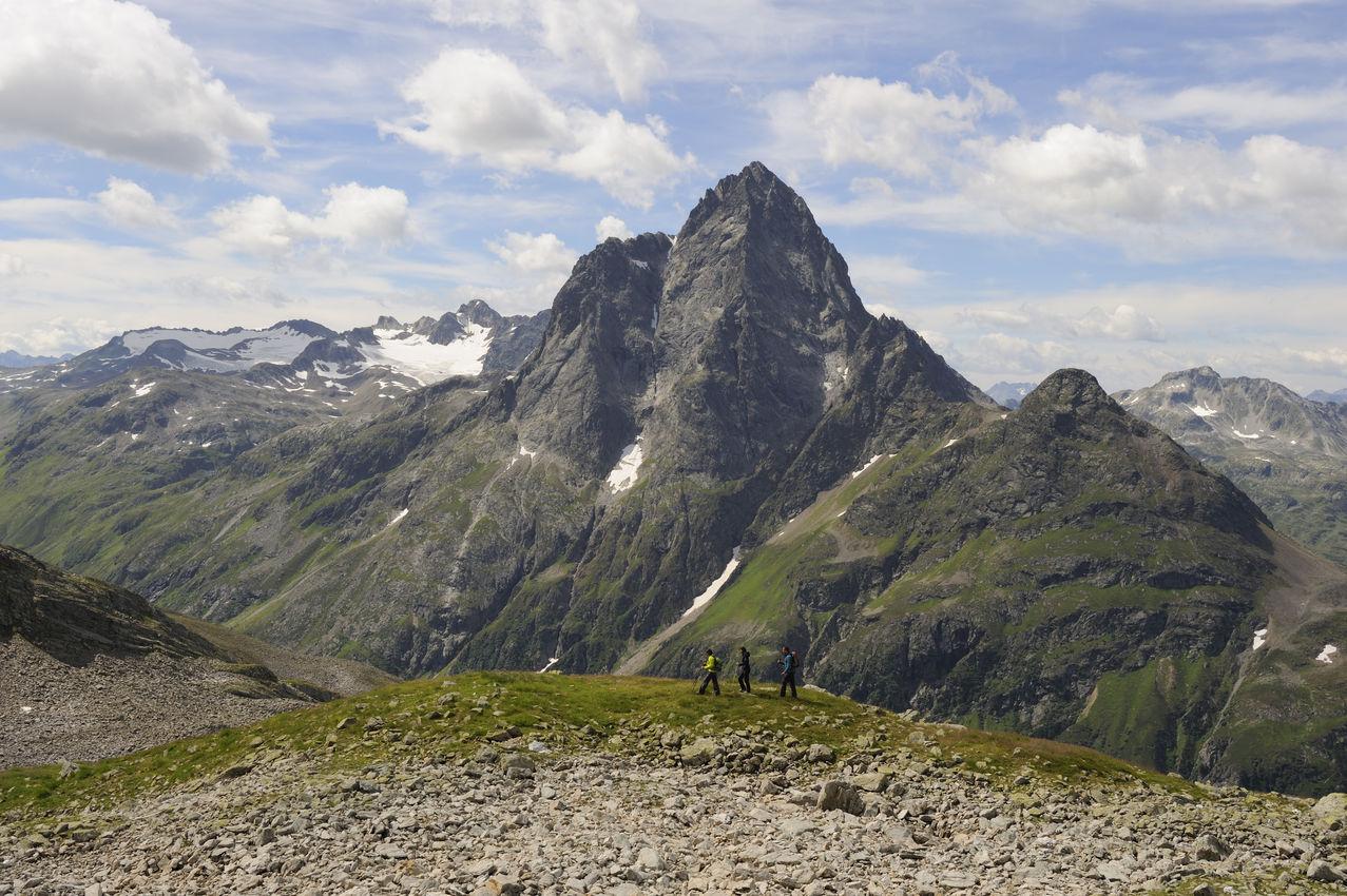 Bergfoto aus Tirol
