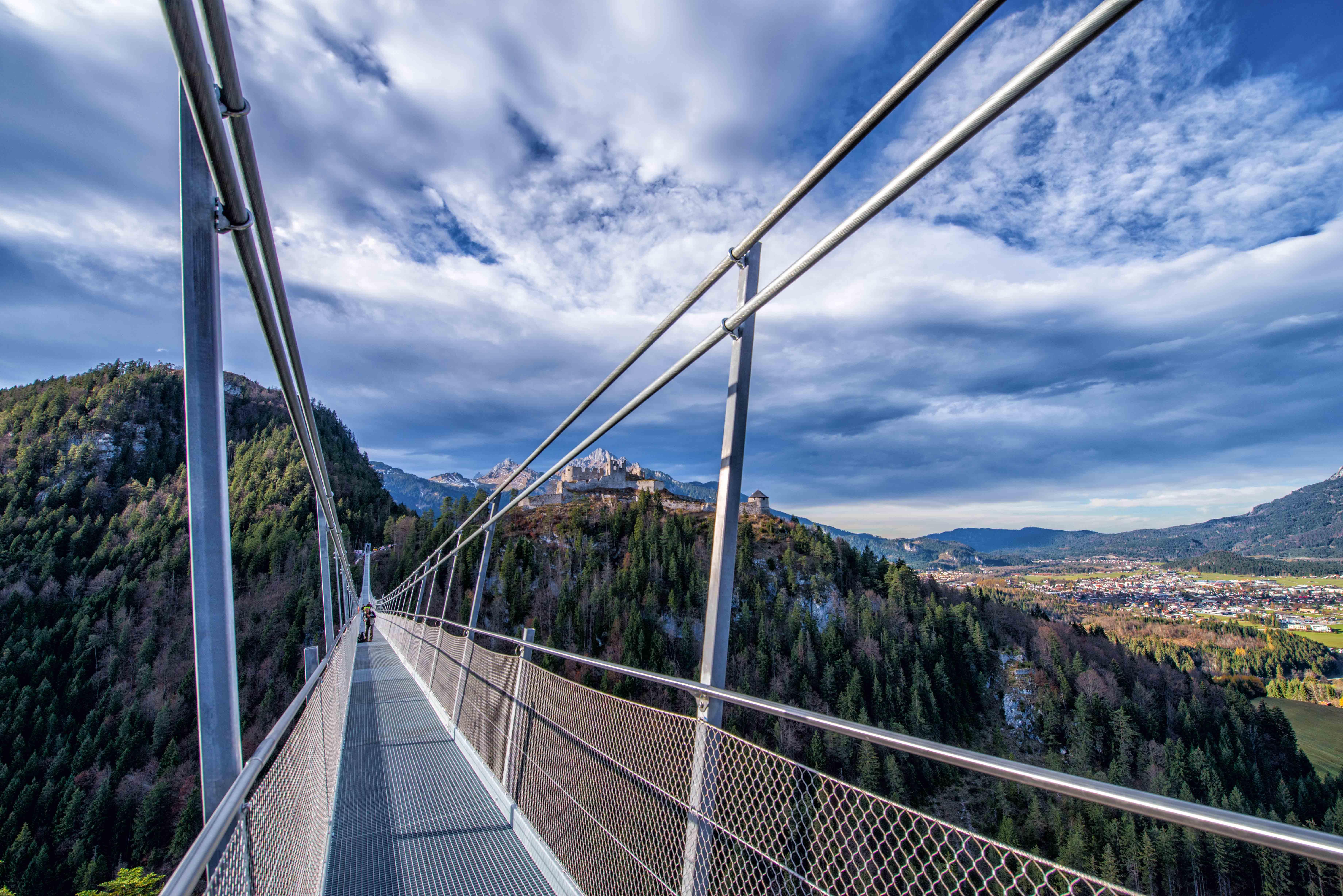 highline 179, Hängebrücke