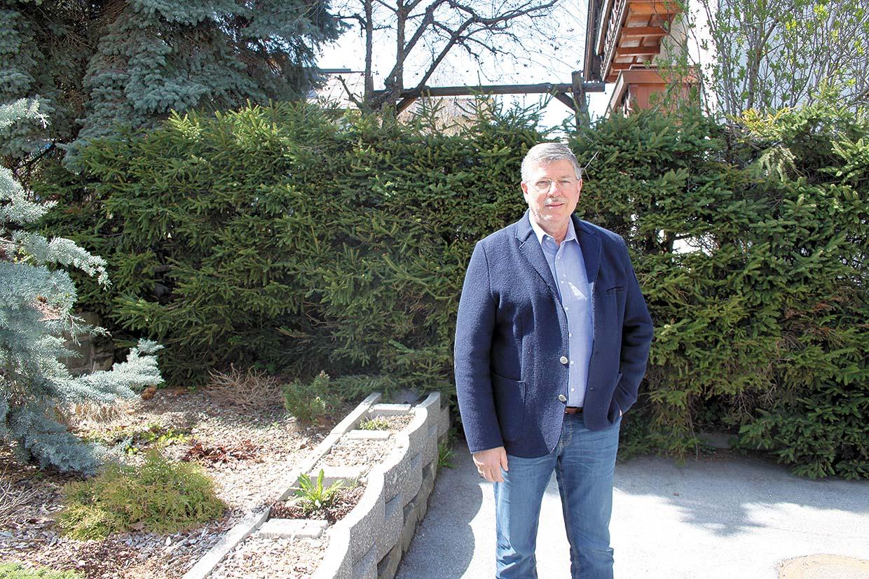 Alois Thurner, Garten