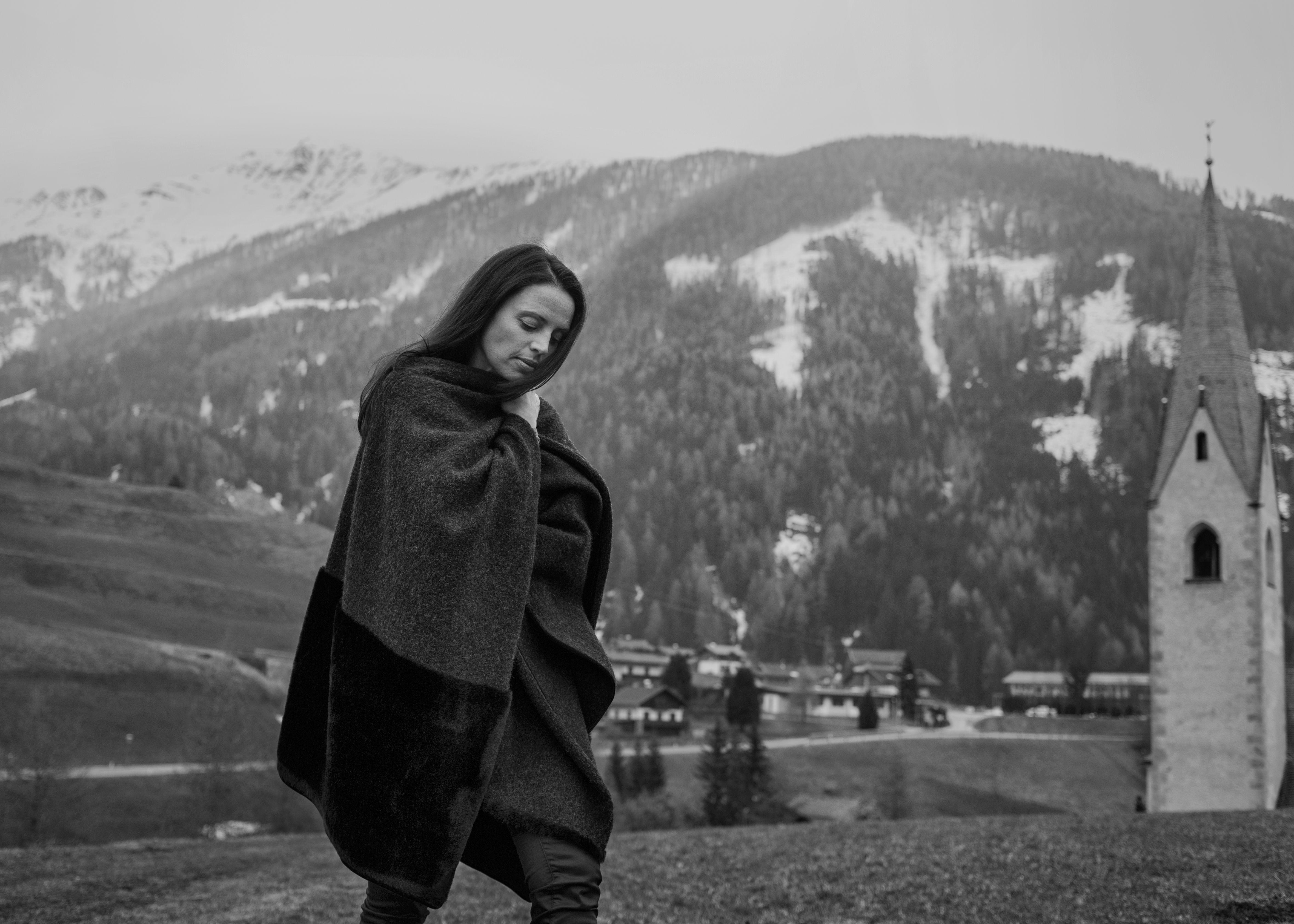 Claudia Pichler, Shooting, Schwarz Weiß